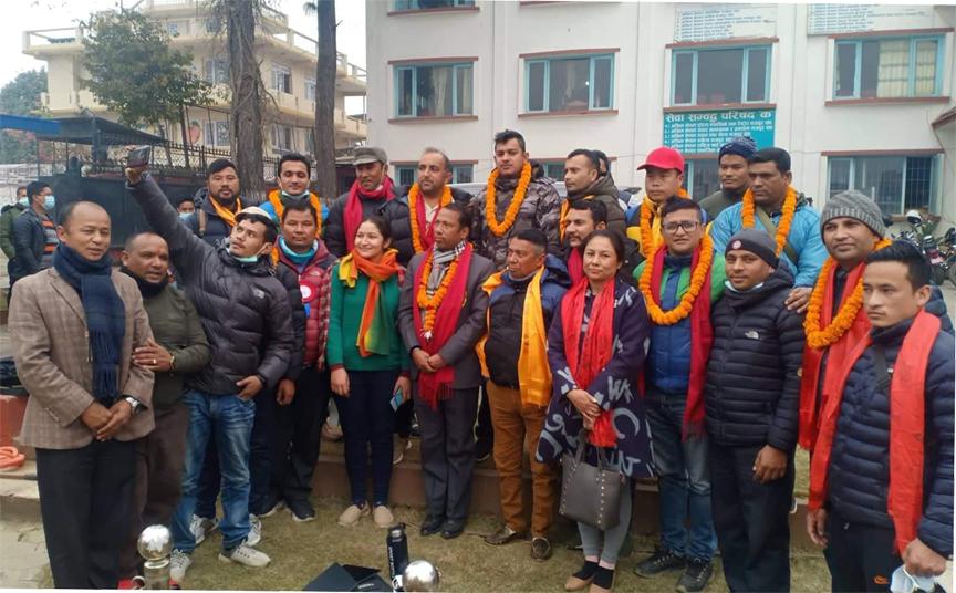 अखिल नेपाल ट्रेड युनियन महासघमा सिंखडा र युवा कमिटिमा पन्त
