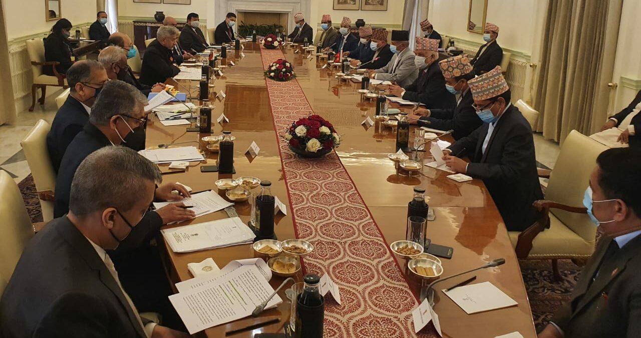 नेपाल–भारत संयुक्त आयोगको बैठक सम्पन्न, सीमा विवादबारे छलफल अनौपचारिकतामै सीमित