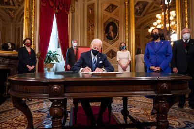 अमेरिकाको ४६ औं राष्ट्रपतिका रूपमाजो बाइडेनले लिए शपथ, उल्ट्याए ट्रम्पका विभिन्न नीति