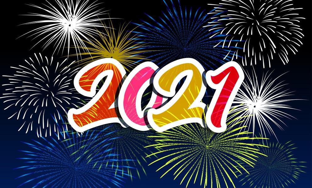 नयाँ वर्ष इस्वी सन् २०२१ मनाइँदै