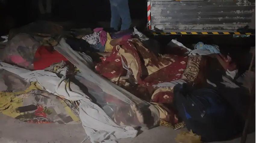 भारतको गुजरातमा फुटपाथमा सुतेका मजदुरमाथि ट्रक चलेपछि १३ को मृत्यु