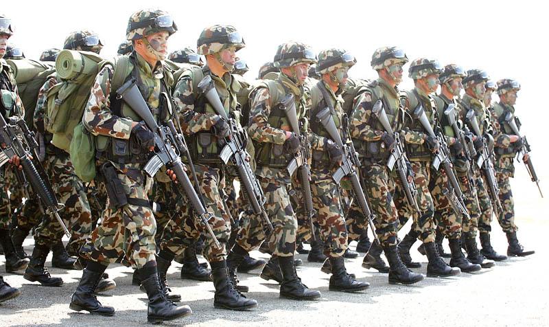 नेपाली सेनामा अब १६ वर्षमै पेन्सन, २० वर्षमा रकम