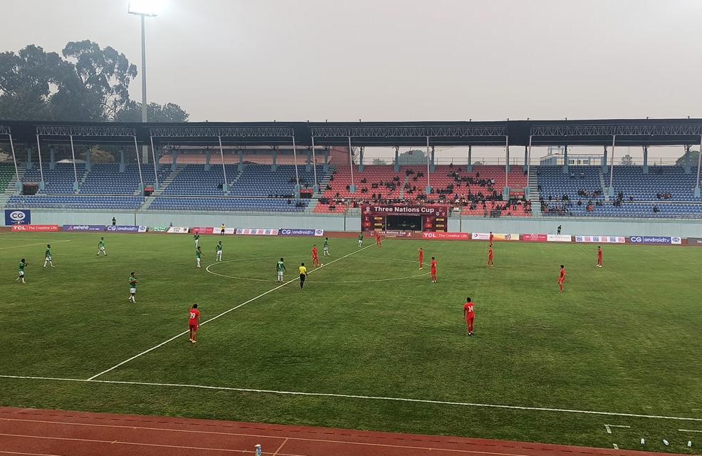 त्रिदेशीय फुटबलमा बंगलादेशको विजयी सुरुवात