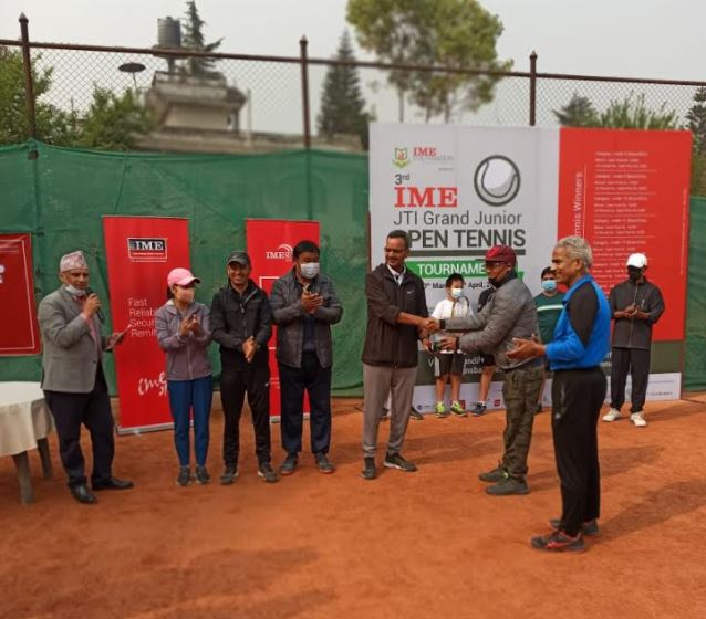 तेस्रो आइएमई टेनिस प्रतियोगिता शुरू