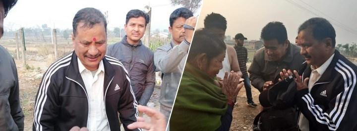नवलपुरबाट सार्वजनिक भए विप्लव, शहीद परिवारसँगको भेटघाट पछि काठमाडौं प्रस्थान