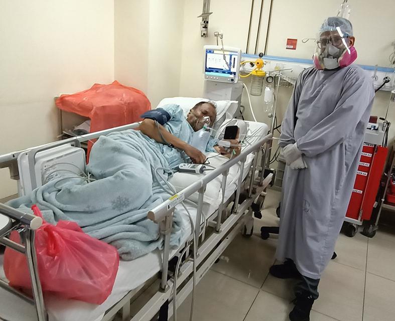 गायक दीप श्रेष्ठलाई कोभिड संक्रमण, अस्पताल भर्ना